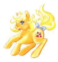 Applejack Pony by rayechu