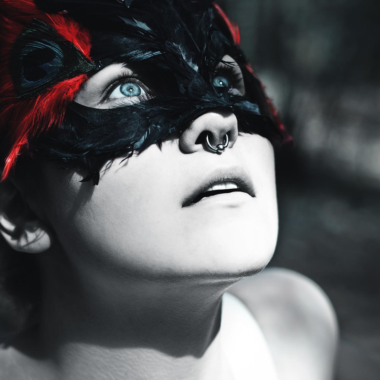 Mask II by Anselmeth