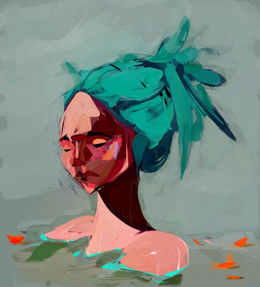 Hair colour by Anselmeth
