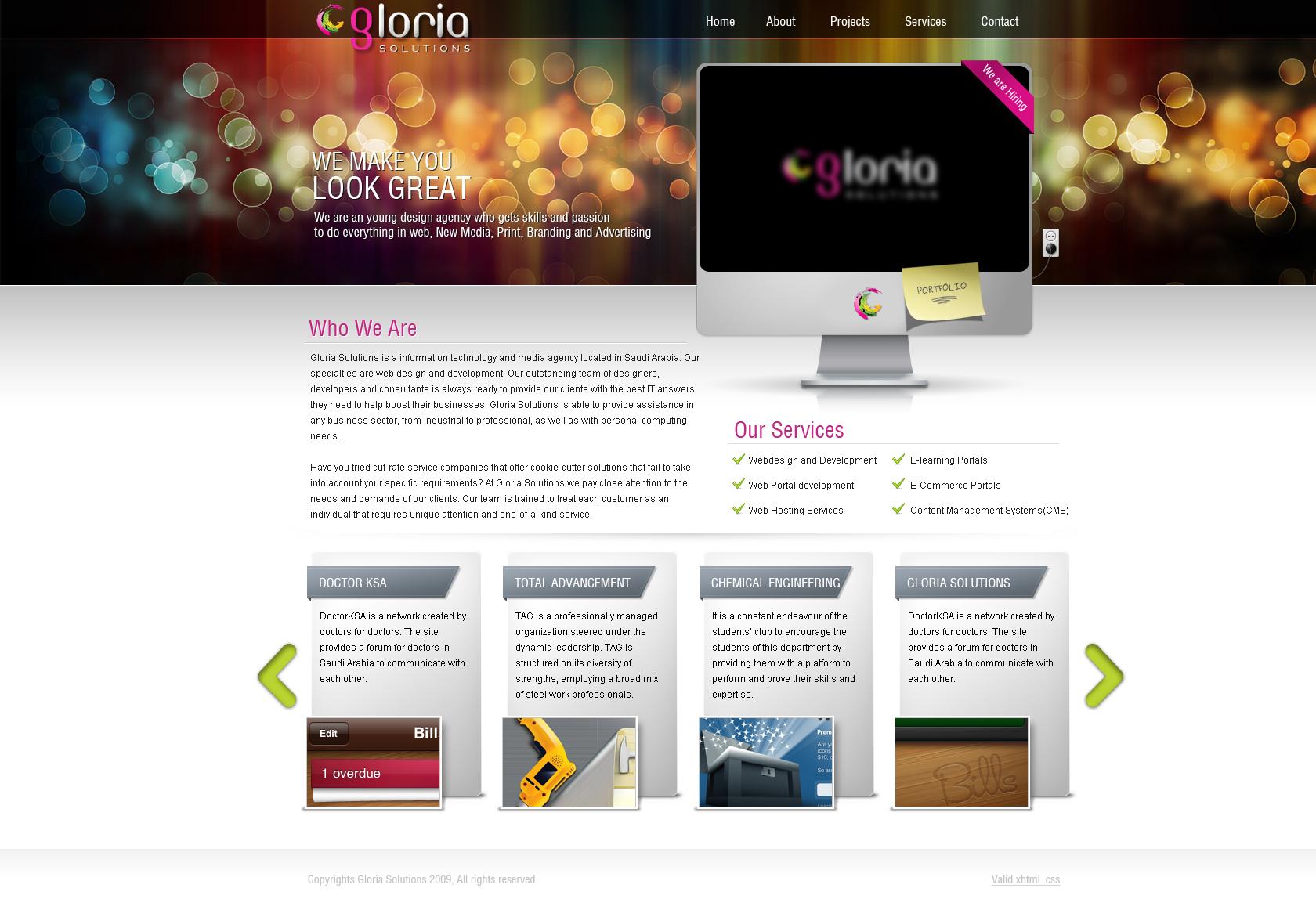 Gloria Solutions
