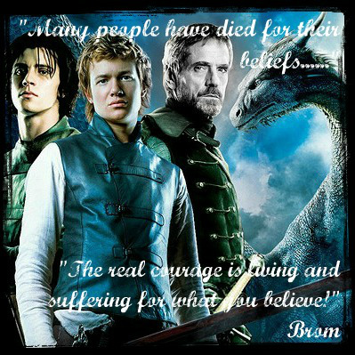 book report on eragon The kid is born, but with a harelip, which eragon heals this added completely nothing to the entire plot and was a waste of space will the villagers ever be able to return to carvahall yep, they all move back and live happily ever after no lie will birgit ever exact her revenge on roran for her husband's.