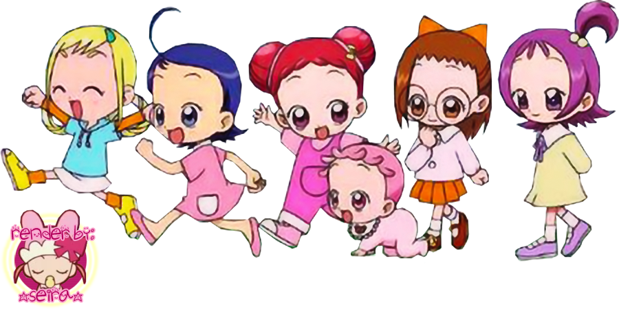 Ojamajo Doremi Render by LoveLollypop on DeviantArt
