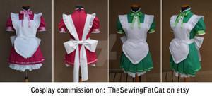 Mew Mew maid costumes