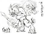 Ganon Sketch