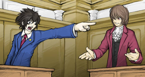 Death Note - Objection by zankara