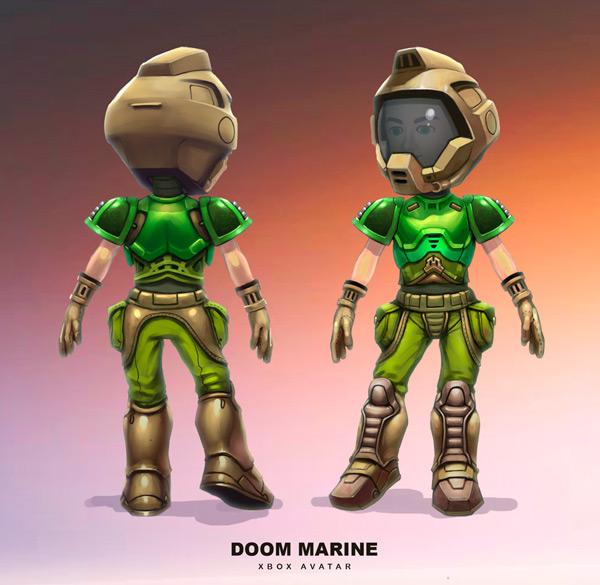 Xbox Doom Marine Avatar By Jomarokindred On Deviantart
