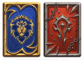 Deck Trippin: Horde vs Alliance by JomaroKindred