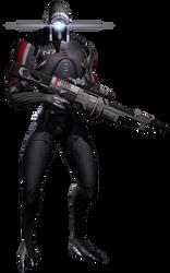 Geth Trooper Render by inyriforge