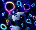 Rainbow Bubble Panda