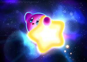 Kirby's Warp star