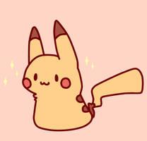 Warm Pastel Pikachu