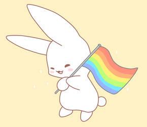 Kawaii Pride Bunny
