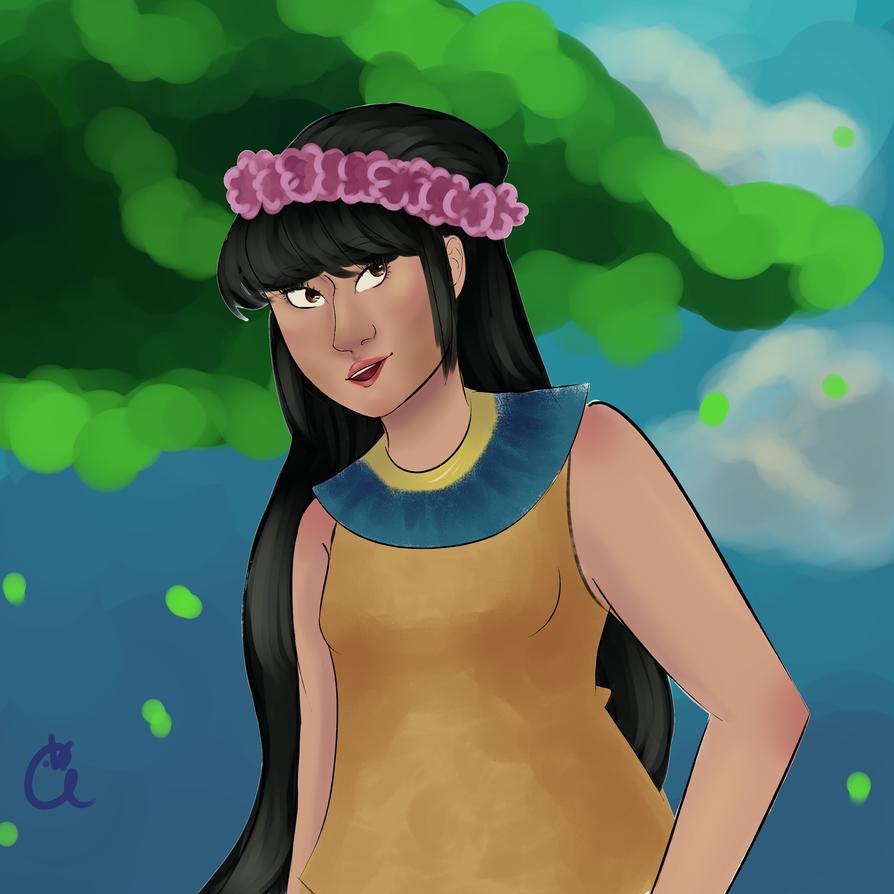 Aztec Princess by cristal-cut