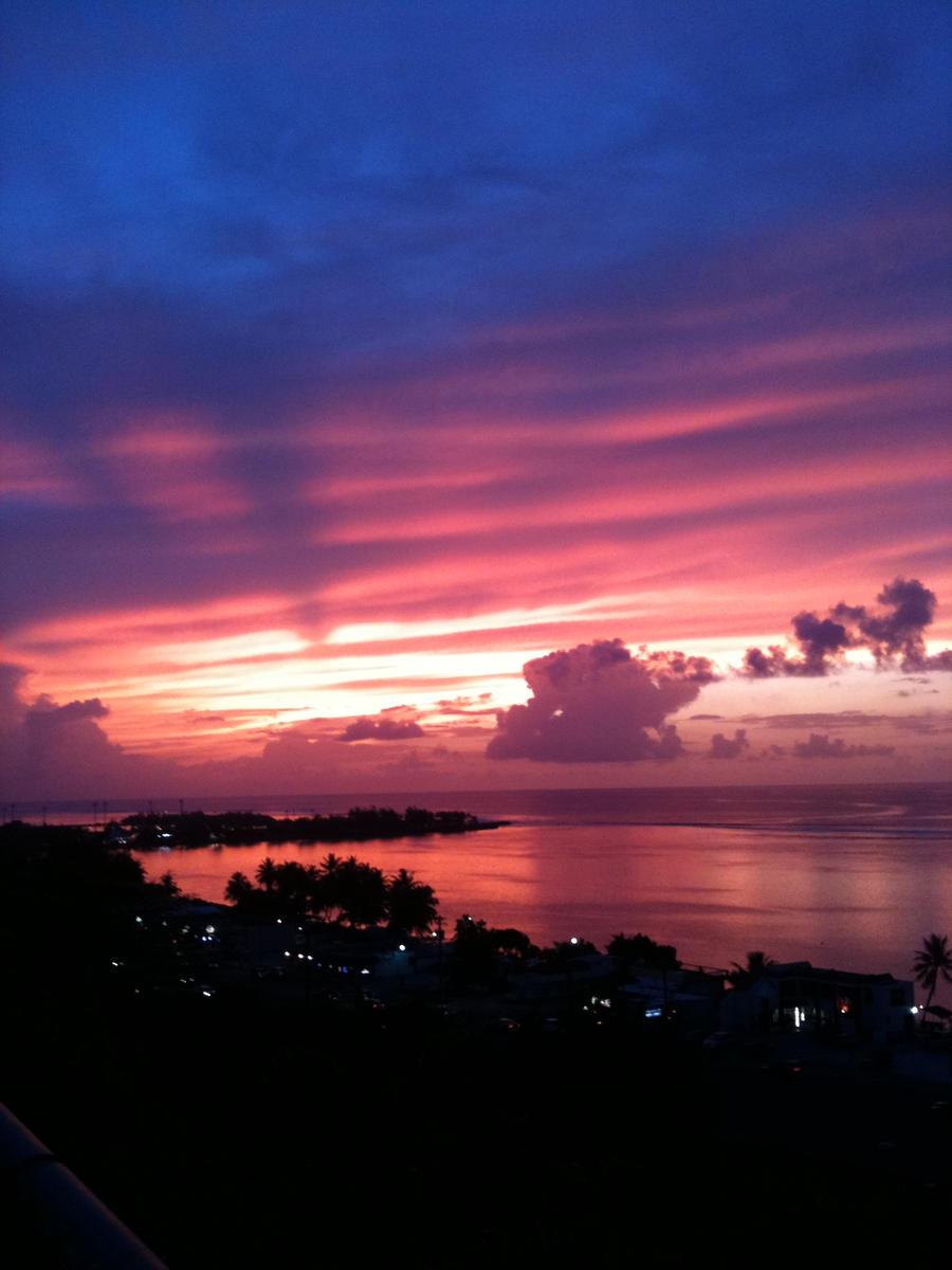 Guam's Sunrise by TechnoShadowBlood