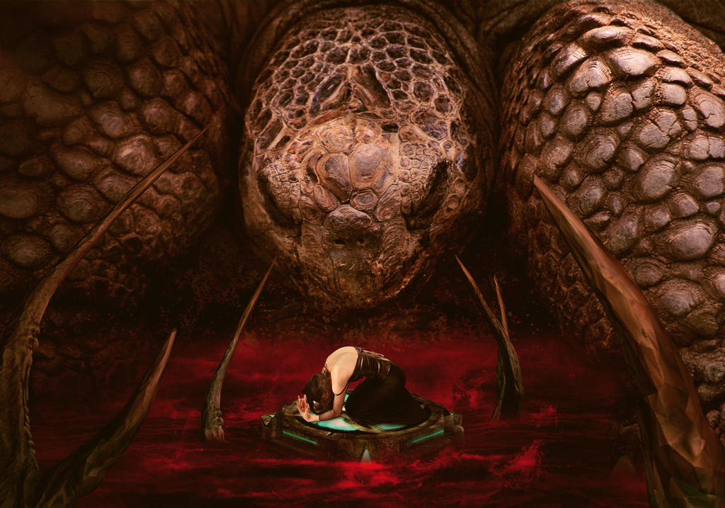 Reptilian God (2017) by Kiriya