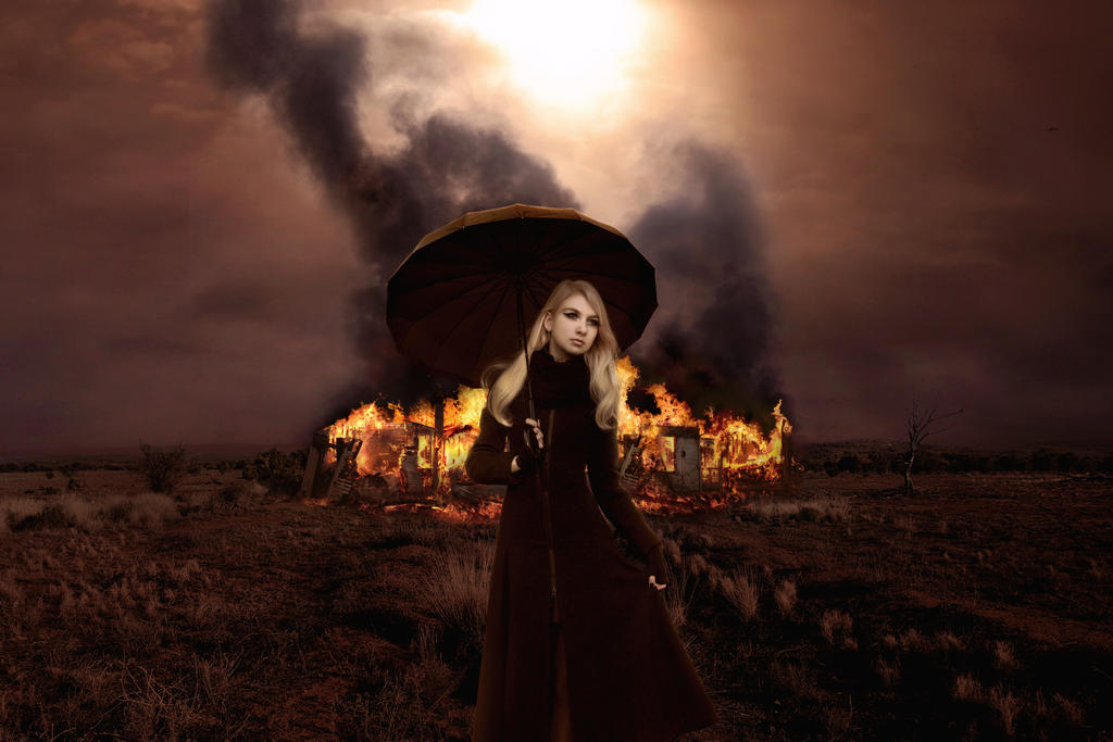 Woman in Black (2017) by Kiriya