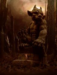 Worshiper of Gargoyle (2019) by Kiriya