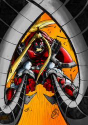 OMEGA RED WIP by Deathring2000