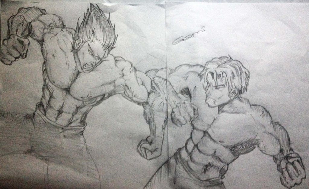 Darius VS Garen League Of Legends By IAmGaMi