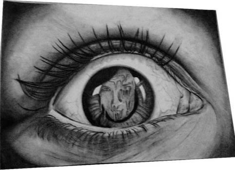 I'm melting in your eyes