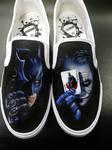 The Dark Knight Slip Ons
