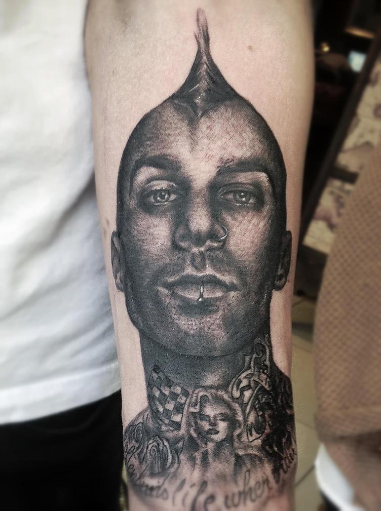 Travis Barker Tattoo Tour