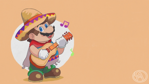 Mario Mexicano by SuperAlfredoUniverse