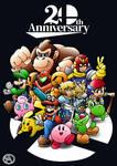 Super Smash Bros 20 Anniversary