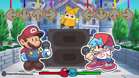 FNF VS Paper Mario