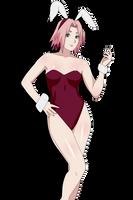 Bunny Girl Sakura by kurotaka911