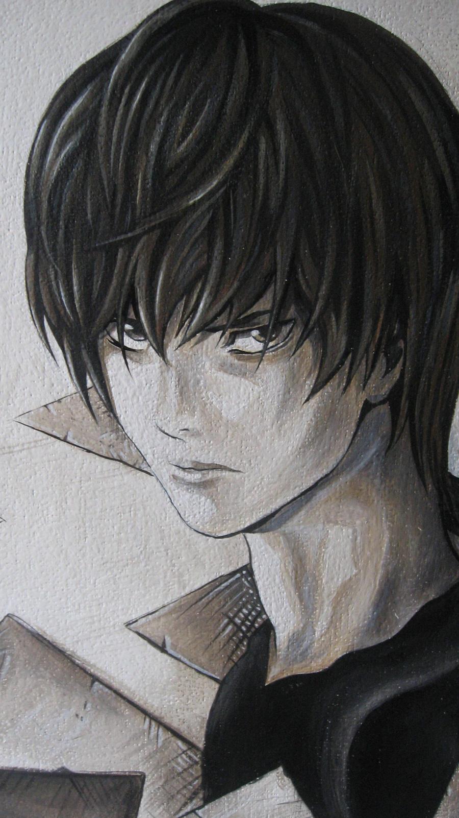 DEATH NOTE by serukian