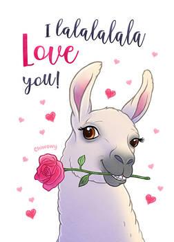I lalalalala Love you