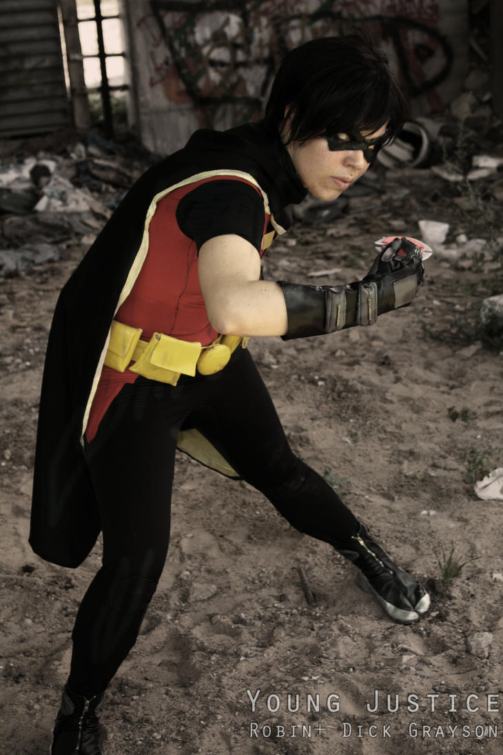 Robin alias dick grayson by Tenraii