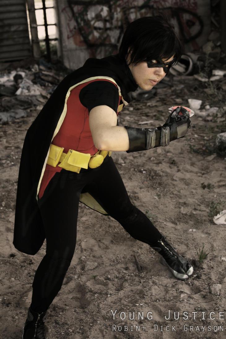 Robin alias dick grayson by Tenraii