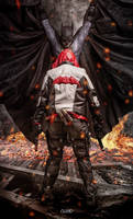 Batman vs Red Hood - cosplay photoshooting