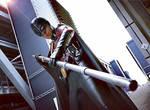 Red Robin Arkham City cosplay  - Bo staff by Tenraii