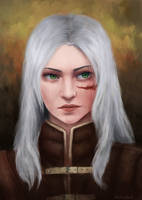 Cirilla - The Witcher by AiraCousland
