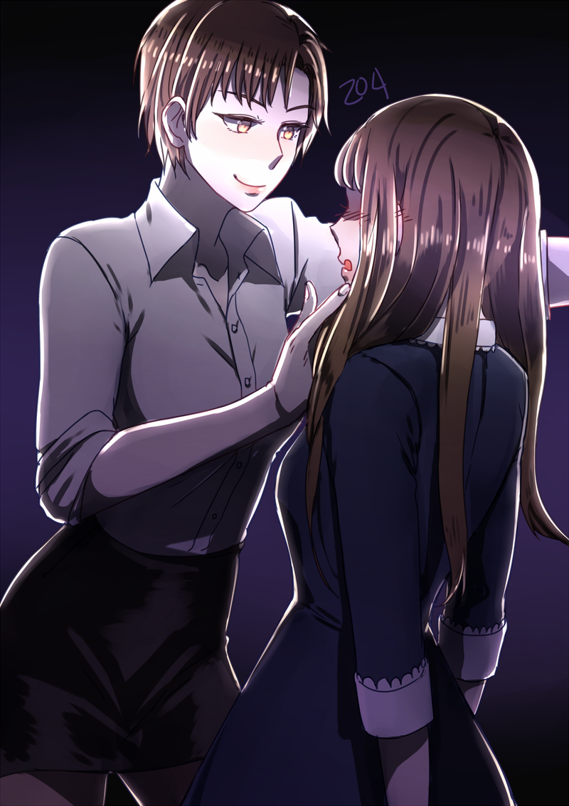Anime Characters Born On August 8 : Mystic messenger jaehee kabedon by a z on deviantart