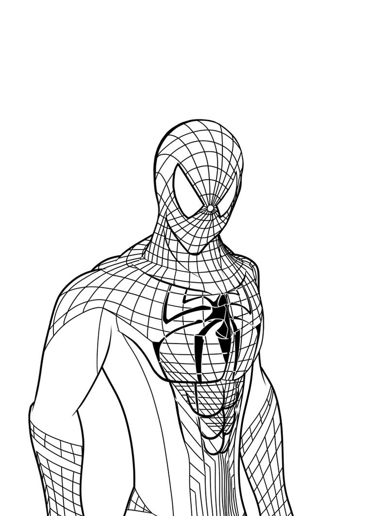 the amazing spider man drawing u2013 images free download