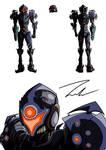 Samus - Dark Suit Re -