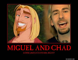 Miguel and Chad by Metallica-fan-girl