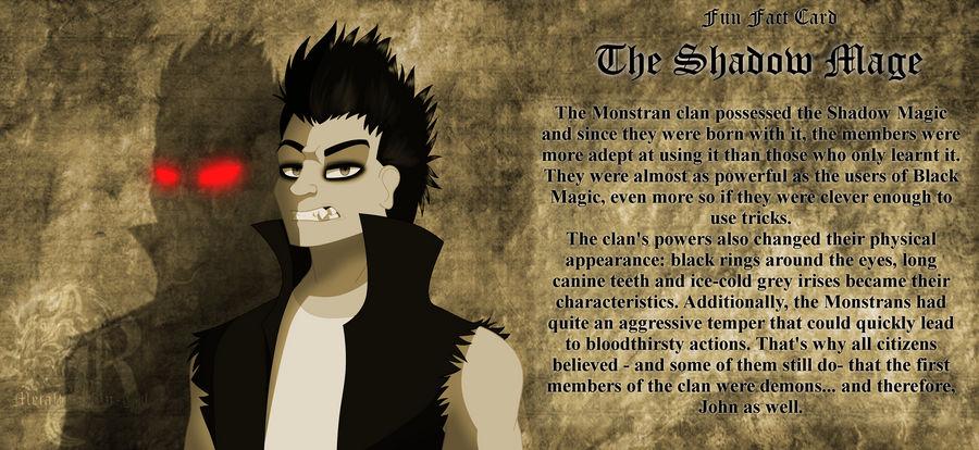 CoTV Fun Fact Card - The Shadow Mage by Metallica-fan-girl