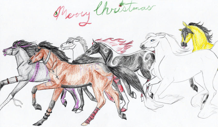 Merry Christmas to my watchers part1 by naomithewolf