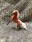 Silver Bay Appaloosa Breyer Stablemate Custom by naomithewolf