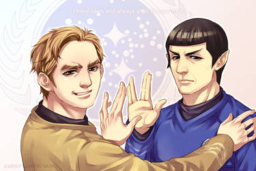 TOS-my other half by Athew