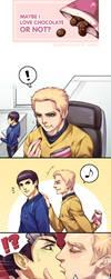 ST comic-slash KSK by Athew