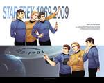 Star Trek-wallpaper of OT3