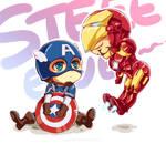 Marvel-Steve and Tony