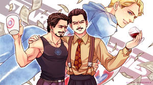 Marvel-Mr.Stark by Athew