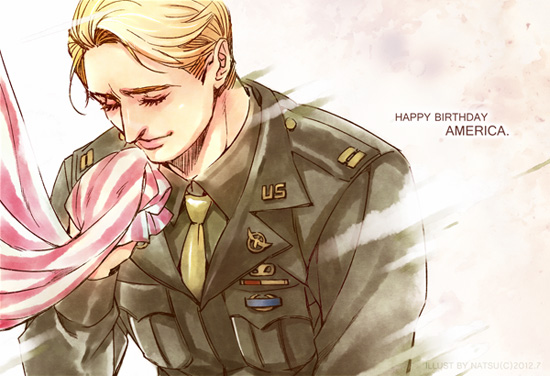 The Avengrs-Happy Birthday Cap! by Athew